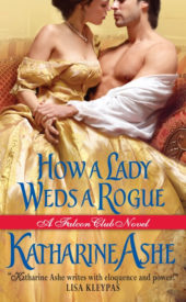 cover Ashe, HOW A LADY WEDS A ROGUE