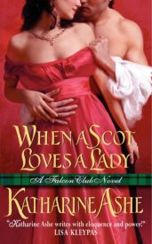 cover Ashe, WHEN A SCOT LOVES A LADY