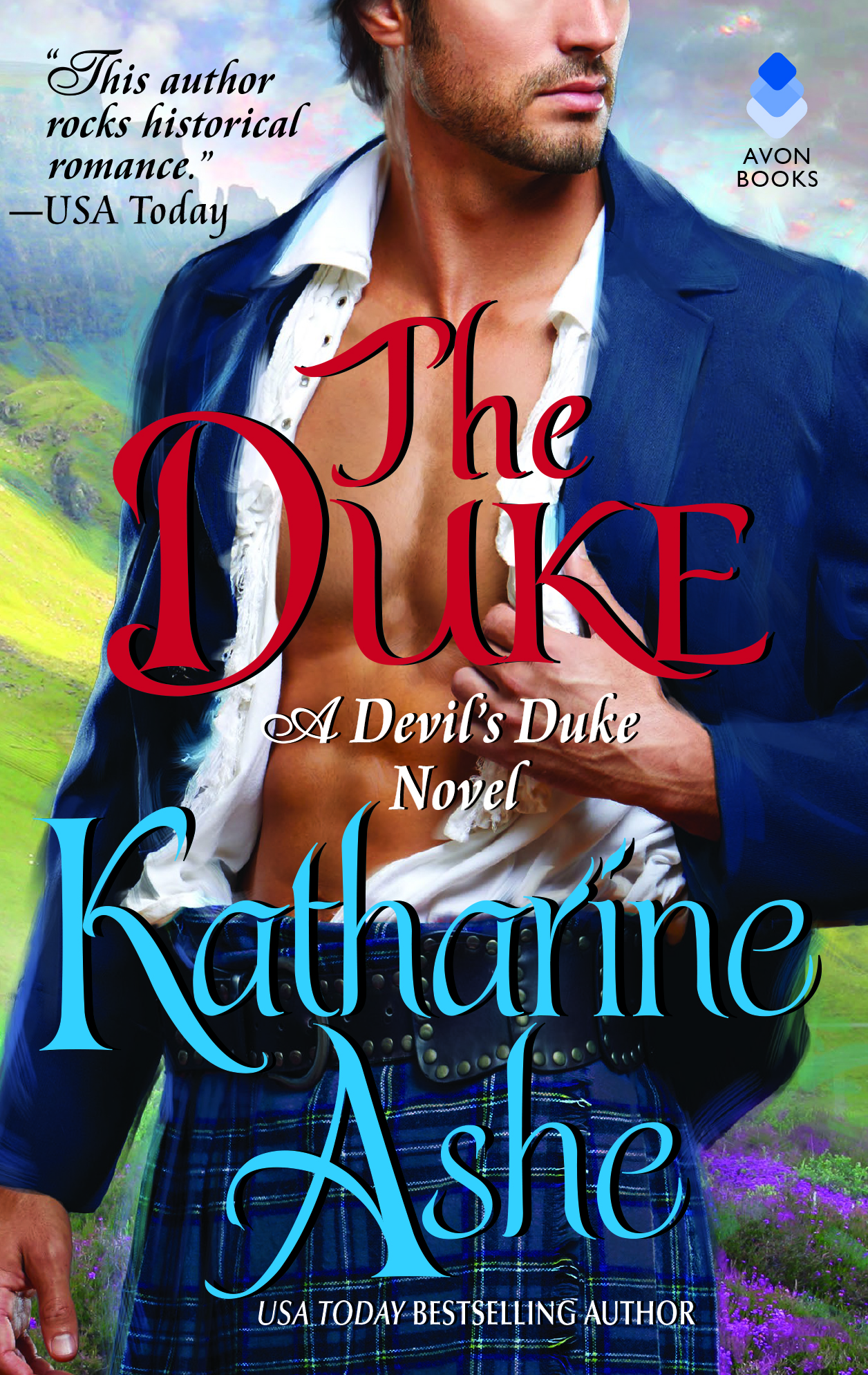 Romance Book Cover Remix : The duke katharine ashe