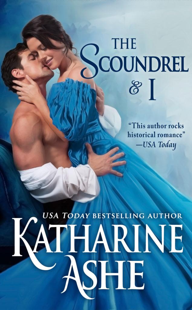 Romance Book Cover Letter : The scoundrel i katharine ashe